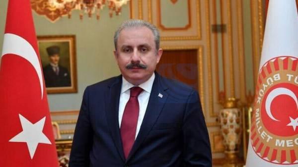 رئیس مجلس ترکیه: ترور دانشمد ایرانی اقدامی تروریستی است