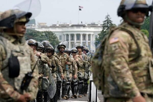 🔺 سوابق نیروهای گارد ملی مستقر در واشنگتن بررسی می شود