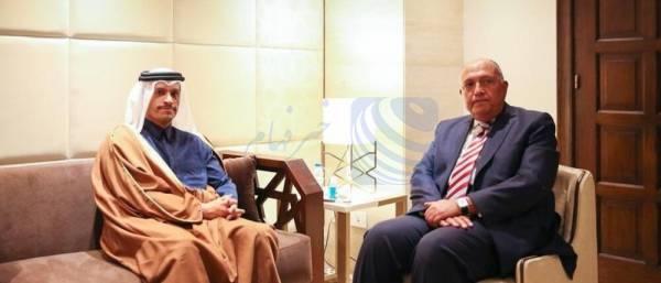 """🔺 تاکید وزیر خارجه قطر بر بازگشت به روابط """"مستحکم"""" با مصر"""