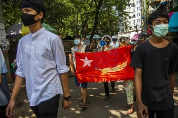 🔺 تاکید آمریکا بر لزوم اعمال تحریم تسلیحاتی و تحریم ارتش میانمار