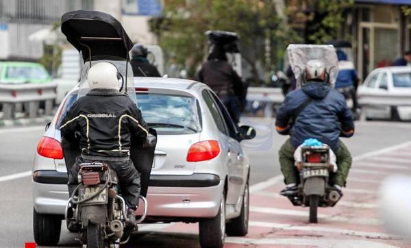 🔺 هیچ موتورسیکلتی بدون پلاک حق تردد ندارد/ برخورد پلیس با حرکات نمایشی موتورسواران