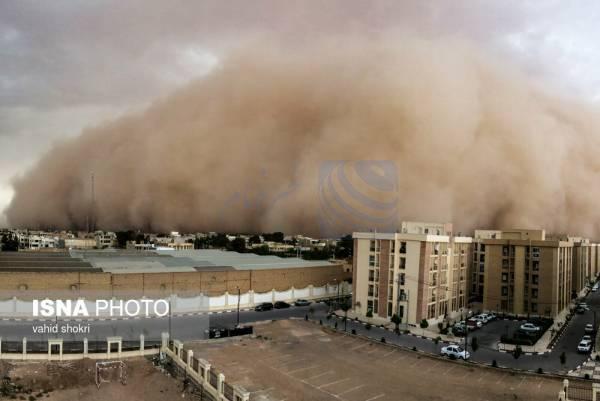 🔺 پیشبینی وقوع طوفان شن در سه استان/افزایش ارتفاع موج در دریای خزر و خلیج فارس