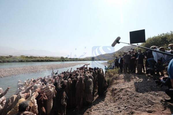 🔺 رییس صداوسیما برای بازدید از سریال «سلمان فارسی» به جلفا سفر کرد