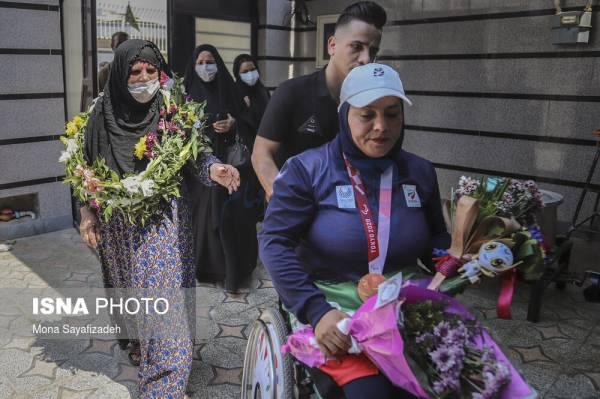 🔺 استقبال مردم اهواز از بانوی طلایی خوزستان در پارالمپیک توکیو