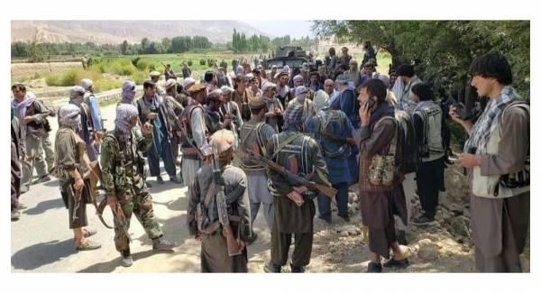 🔺 نیروهای پنجشیر ورودی دره را بستند و تعداد زیادی از نیروهای طالبان محاصره شدند