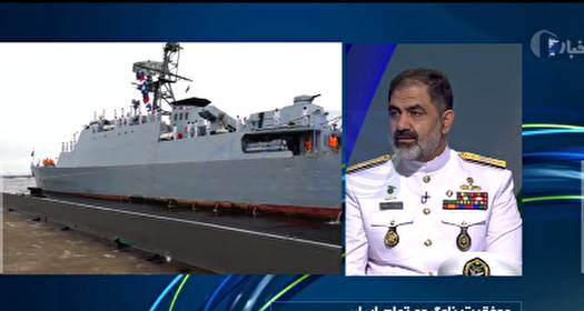 🔺 فرمانده نیروی دریایی ارتش: عبور از سه اقیانوس با ناوشکن تمام ایرانی سهند