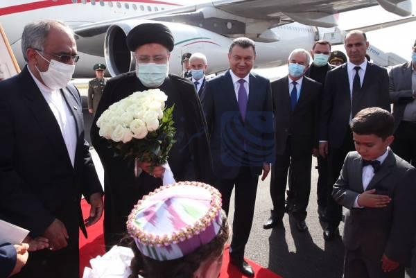 🔺 رئیسی وارد دوشنبه پایتخت تاجیکستان شد