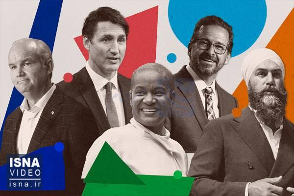 🔺 ویدئو / پیشتازی لیبرالها در انتخابات پارلمانی کانادا