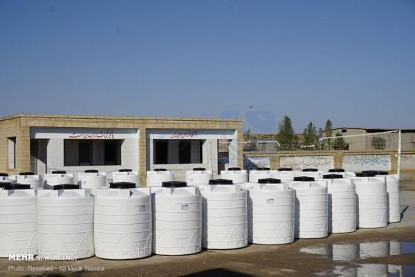 🔺 تأمین ۱۰۰ تانکر آب برای زلزلهزدگان اندیکا/۵۰۰بسته غذایی توزیع شد