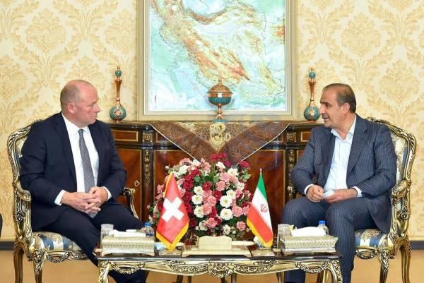 🔺 جزئیات دیدار رئیس کمیسیون کشاورزی با رئیس مجلس شورای ملی سوئیس