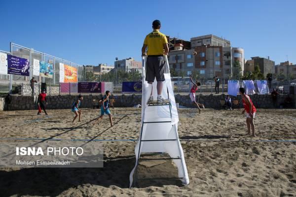 🔺 مسابقات والیبال ساحلی زیر ۱۴ سال قهرمانی کشور