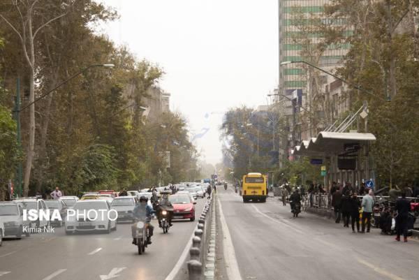 🔺 کاهش کیفیت هوای پایتخت طی امروز