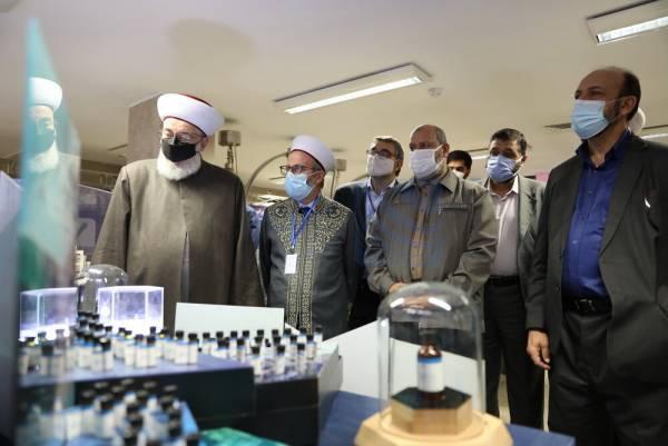 🔺 بازدید میهمانان کنفرانس وحدت اسلامی از راکتور تحقیقاتی شهید فخریزاده (تهران)