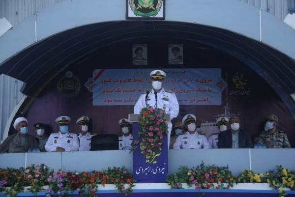 🔺 ناوگروه هفتاد و هفتم نیروی دریایی ارتش از ماموریت دریایی بازگشت