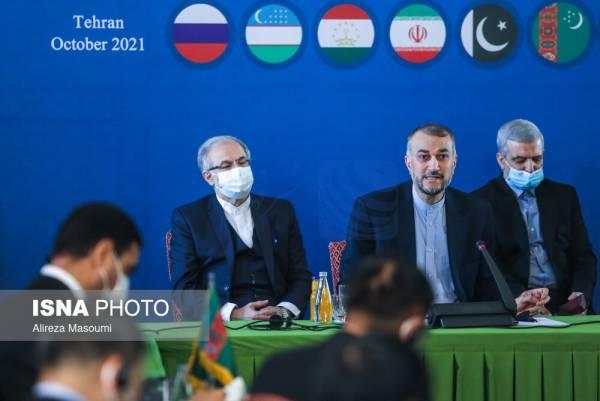 🔺 گزارش توییتری وزیر امور خارجه از نشست دوم همسایگان افغانستان در تهران