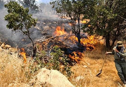 اعزام گردان بلیات تیپ ۳۹۲ زرهی به جنگلهای خسرج