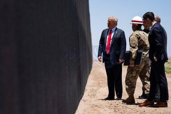 پروژه ساخت ۲۴۰ مایل از دیوار مرزی مکزیک تکمیل شد