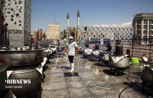 📷 پخت و توزیع غذای نذری به مناسبت عید غدیر خم در تهران