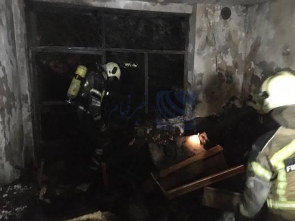کشف جسد زن مسن از داخل منزل سوخته محله استخر